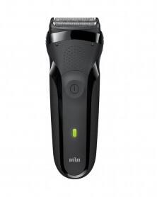 براون - ماكينة الحلاقة الكهربائية Serie 3 باللون الأسود 300 S