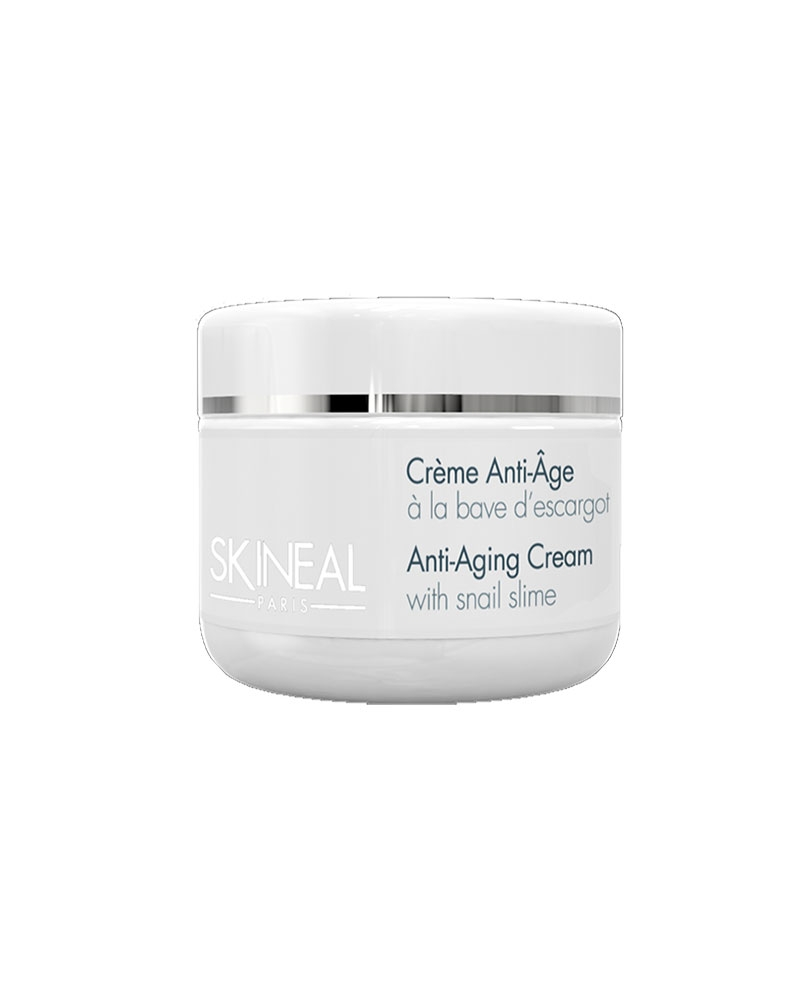 SKINEAL - Crème Anti-âge à la bave d\'escargot 50 ml