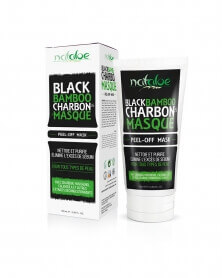 NATALOE - Black Bamboo Masque Peel-Off Charbon 100 ml