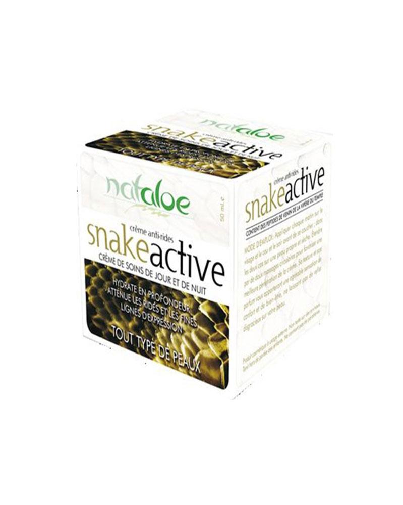 NATALOE - Snake Active Crème de soins anti-rides 50 ml