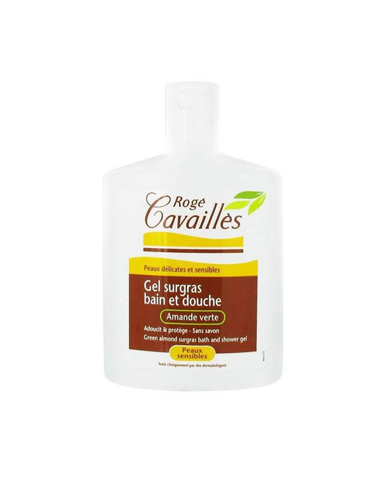 ROGE CAVAILLES - Gel Surgras Bain et Douche Amande Verte 300 ml