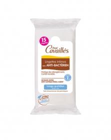 ROGE CAVAILLES - Lingettes Intimes avec Anti-bactérien