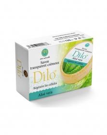 DILO - Savon à l\'Aloe Vera Régénère les Cellules du Visage 125 g