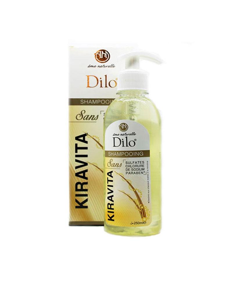 DILO - Kiravita Shampoing sans Sulfates 250 ml