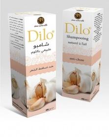 ديلو - شامبو طبيعي مع الثوم لمكافحة سقوط الشعر 400 مل