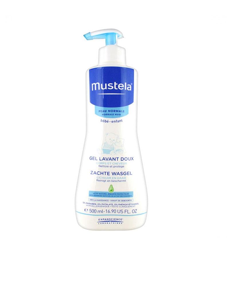 MUSTELA - Bébé Gel Lavant Doux 500 ml