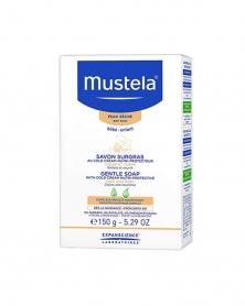موستيلا - صابون ناعم بالكولد كريم مغذي واقي للبشرة الجافة 150 غ