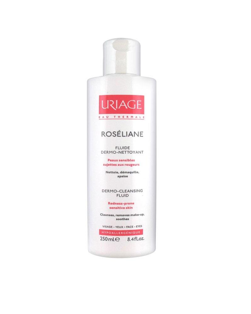 URIAGE - ROSÉLIANE Fluide Dermo-Nettoyant 250 ml