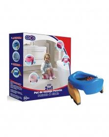 COCCO - Pot De Voyage Toilette Portable Et Pliable Pour Enfant