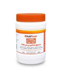 نوتري باور - مسحوق فيتامين ج  نقي 100% علبة 500 غ