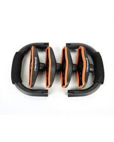 معدات بناء الجسم  مقابض الدفع بالفولاذ المقاوم للصدأ - وين ماكس
