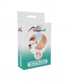 MEGAWELL - Capuchons D\'Orteils en Tissu